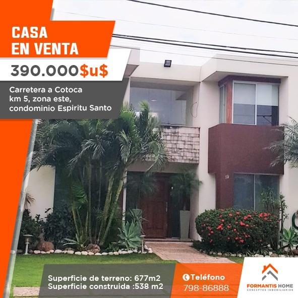 Casa en Venta HERMOSA CASA EN VENTA DE OCASION, CARRETERA A COTOCA KM. 5 CONDOMINIO ESPIRITU SANTO Foto 27