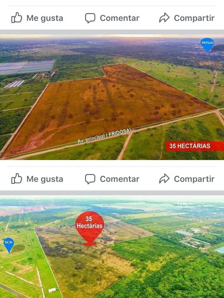 Terreno en Venta Venta terreno 35 has. Carretera Cotoca  Foto 4