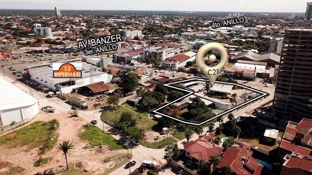 Terreno en Venta Sobre 3er. anillo interno entre avenida Banzer y Beni. Foto 4
