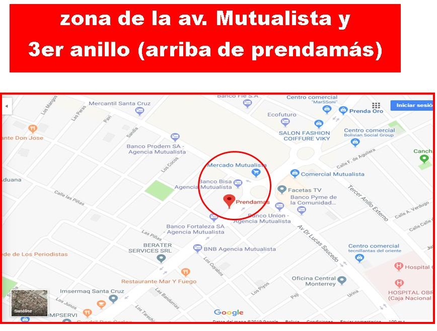 Departamento en Alquiler Av. Mutualista y 3 er Anillo interno, Arriba de Prendamas  Foto 2