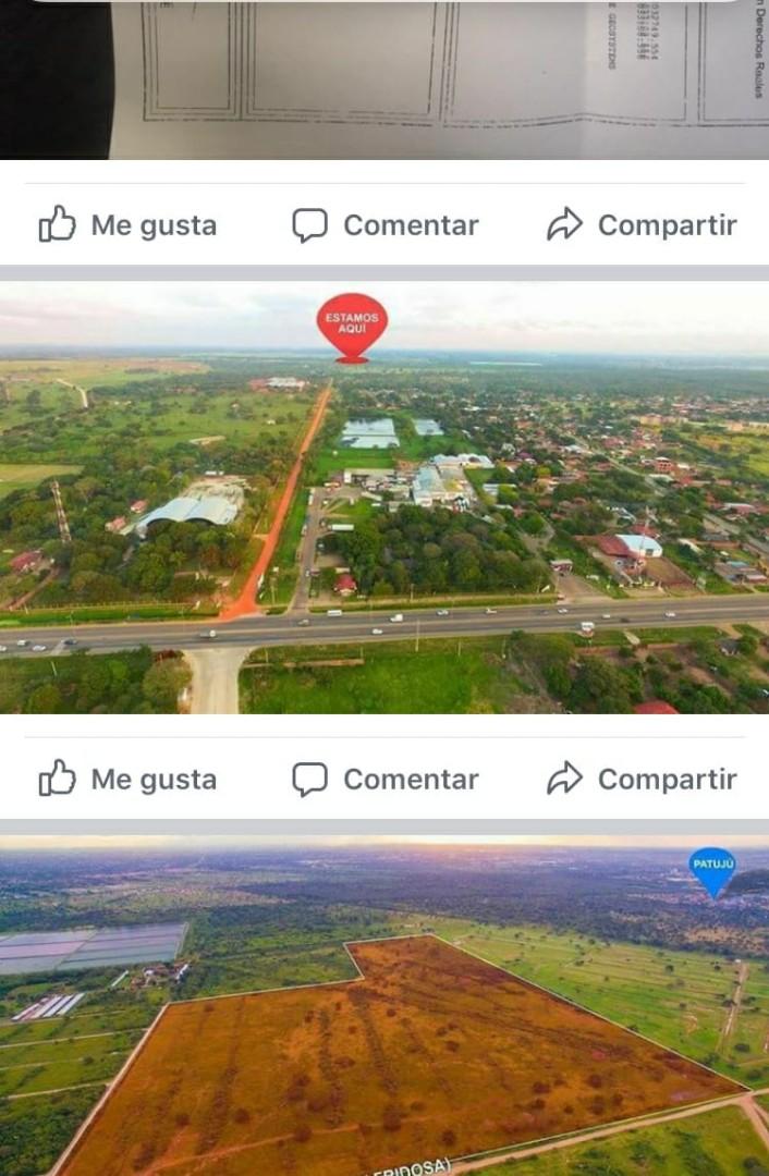 Terreno en Venta Venta terreno 35 has. Carretera Cotoca  Foto 5