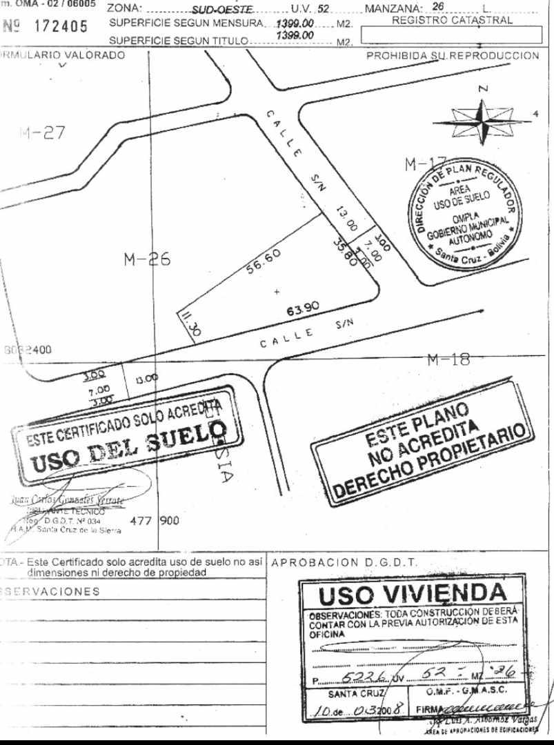 Terreno en Venta BARRIO LAS PALMAS, TERRENO EN VENTA Foto 5