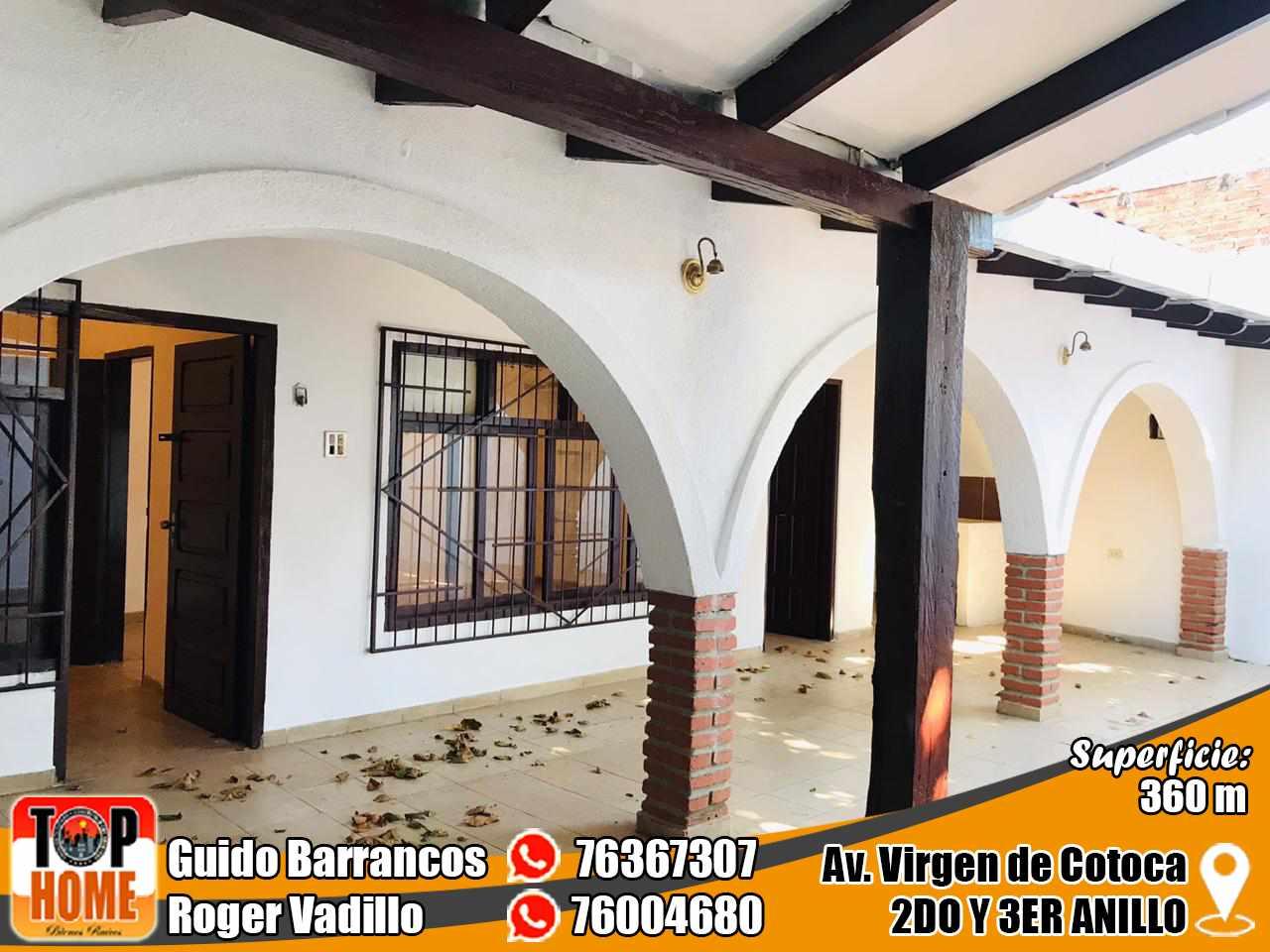 Casa en Alquiler Virgen De Cotoca Y Av. Brasil  Foto 3