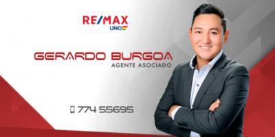 Gerardo Burgoa Agente Asociado RE/MAX - agente portada