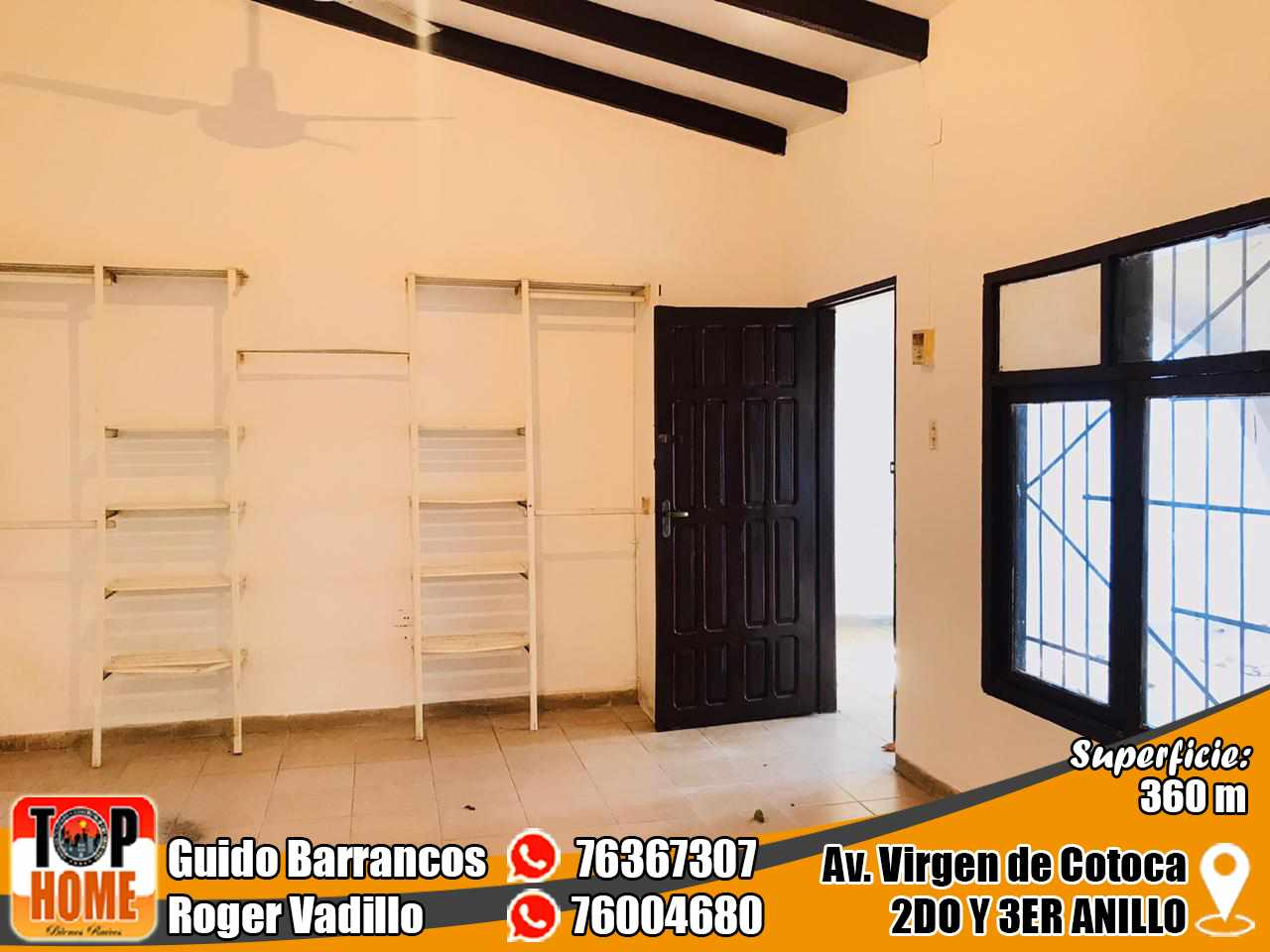 Casa en Alquiler Virgen De Cotoca Y Av. Brasil  Foto 4