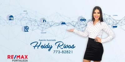 Heidy Rivas - Remax Fortaleza - agente portada