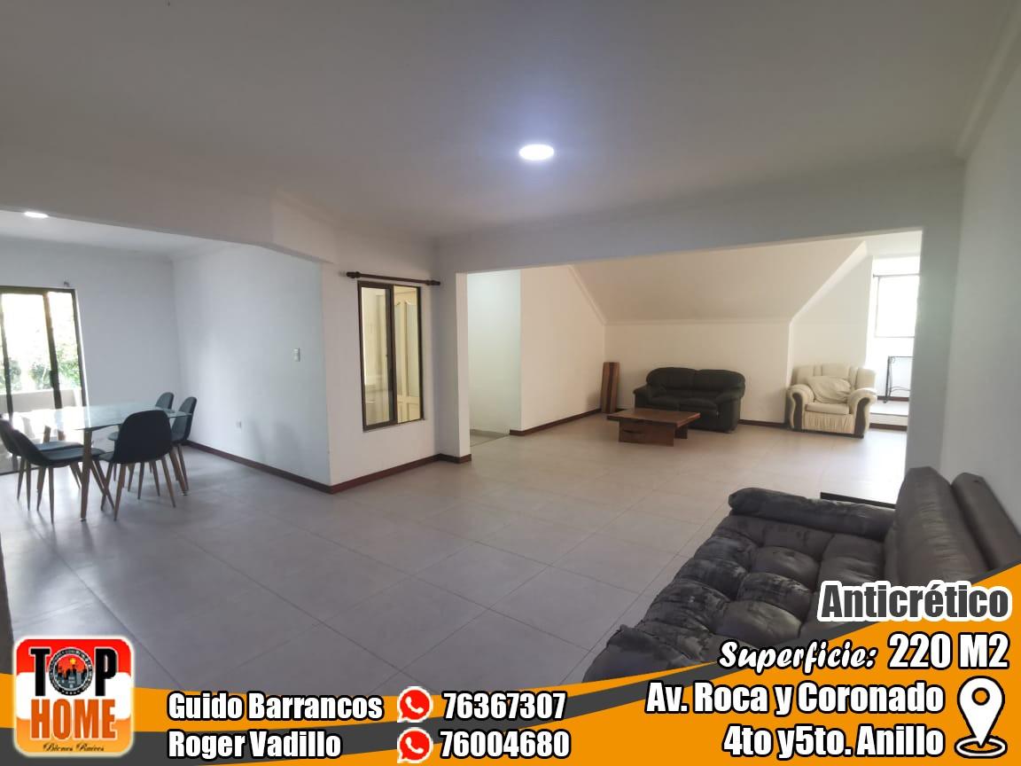 Departamento en Anticretico 4TO Y 5TO ANILLO ROCA Y CORONADO. Foto 6