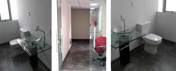 Oficina en Alquiler CALACOTO Calle 12 esquina Sanchez Bustamante. A 1 cuadra de Av. Ballivián.  Edificio de Amaszonas. Foto 10