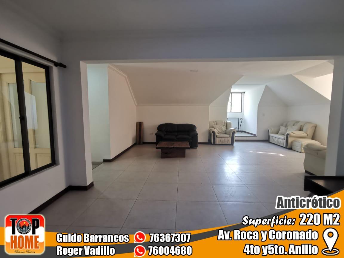 Departamento en Anticretico 4TO Y 5TO ANILLO ROCA Y CORONADO. Foto 11