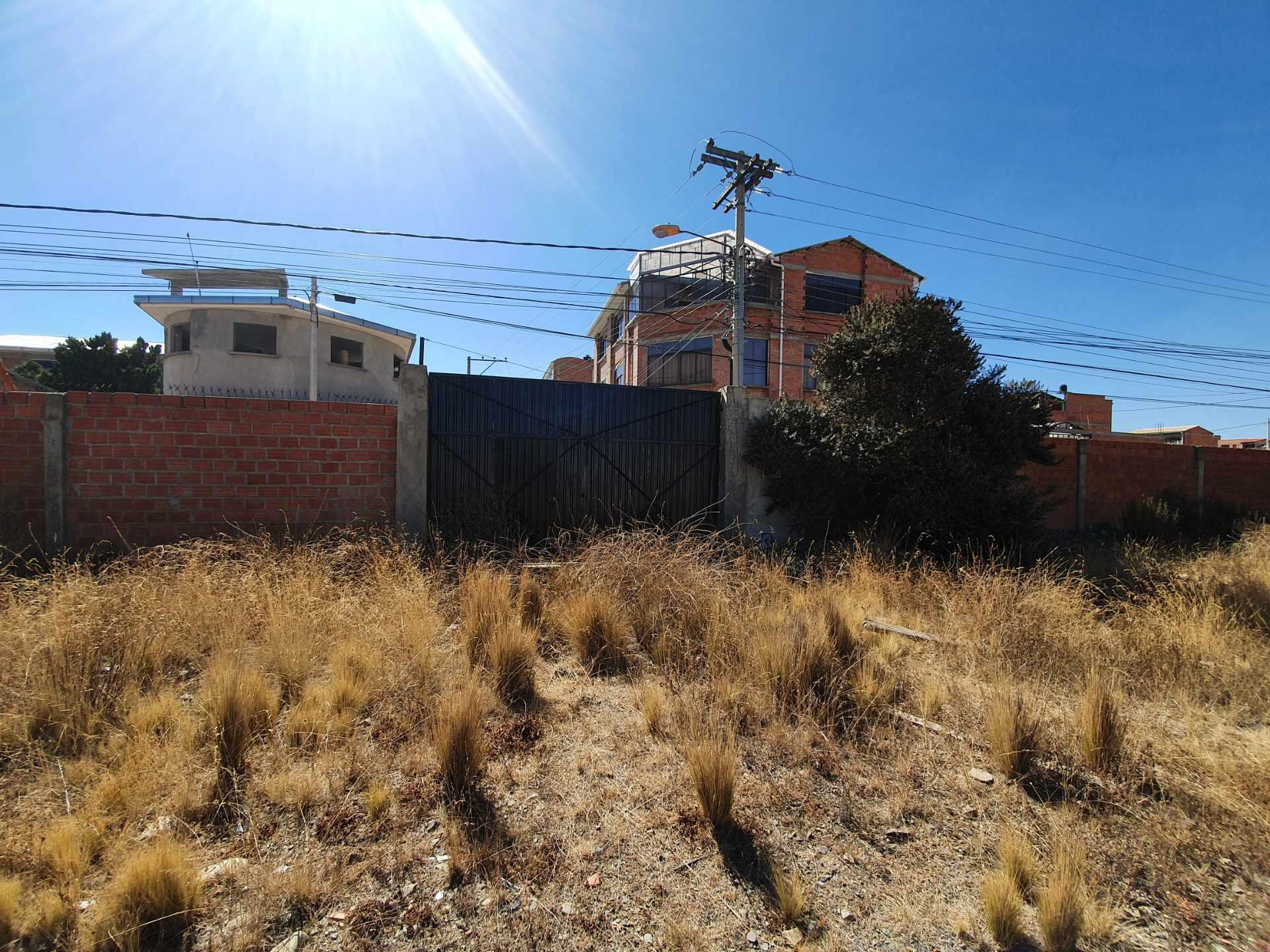 Terreno en Venta A 4 cuadras de Cruce a Villa Adela y a una de Avenida Bolivia  Foto 2
