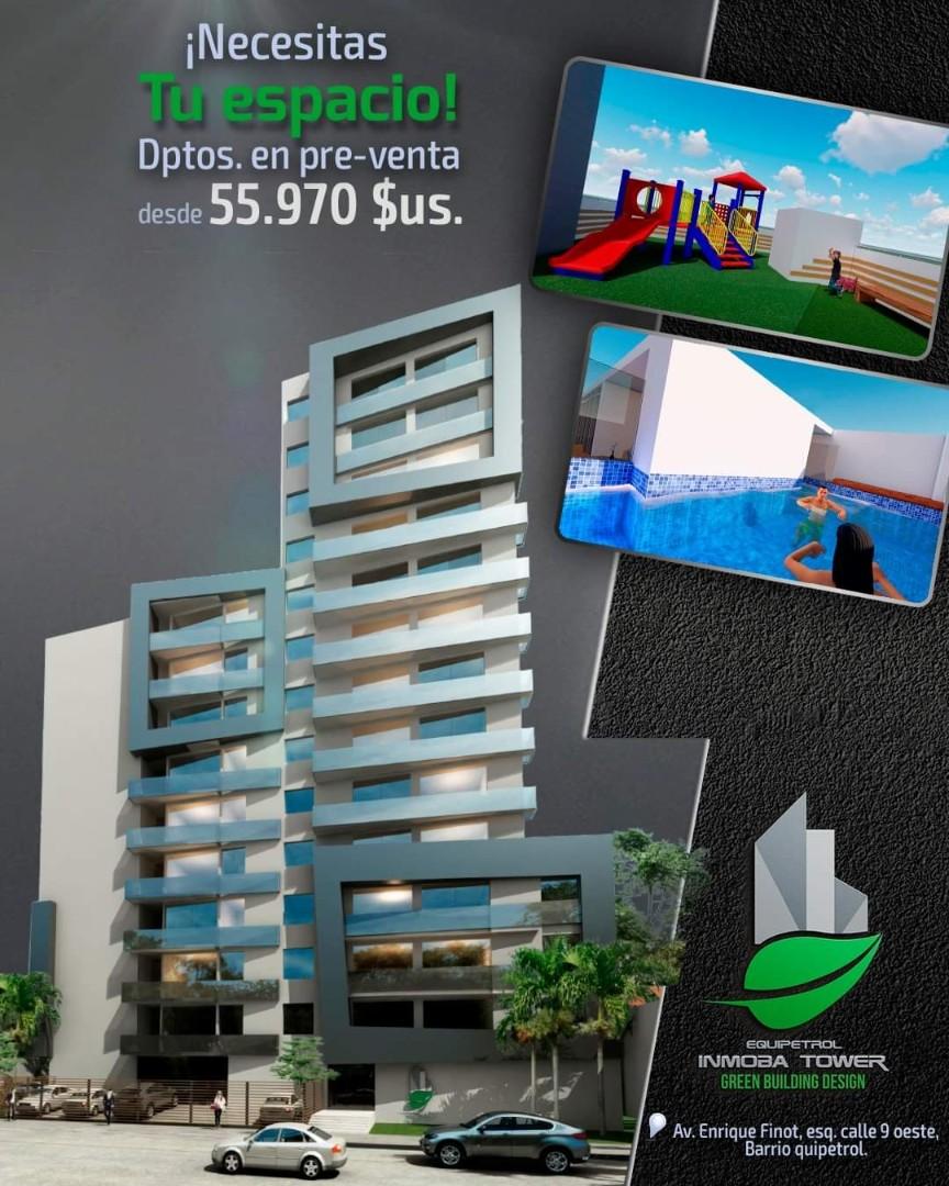 Departamento en Venta ? Equipetrol, frente Hotel Los Tajibos (centro empresarial) Foto 11