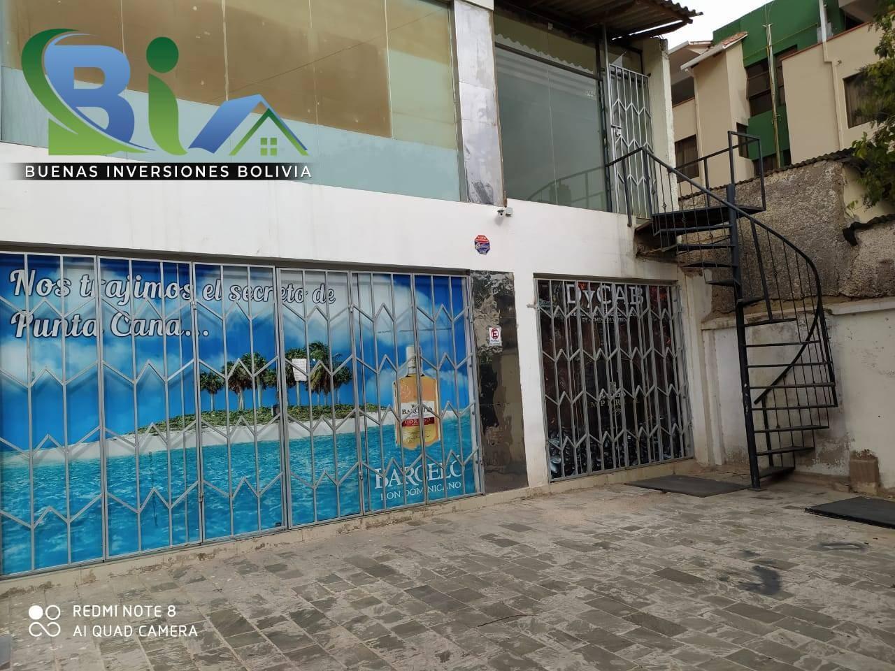 Local comercial en Alquiler $us. 450.- LOCAL COMERCIAL + MEZZANINE PROX. CALA CALA Foto 6
