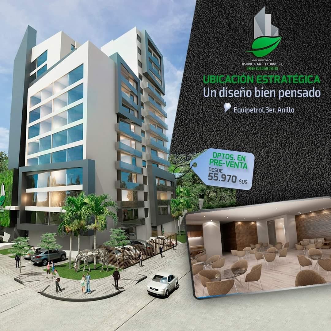Departamento en Venta ? Equipetrol, frente Hotel Los Tajibos (centro empresarial) Foto 7